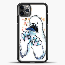 Load image into Gallery viewer, Lil Yeti Some Star Colorful iPhone 11 Pro Max Case, Black Plastic Case | casedilegna.com