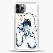 Load image into Gallery viewer, Lil Yeti Some Star Colorful iPhone 11 Pro Max Case, White Plastic Case | casedilegna.com