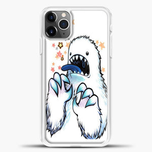 Lil Yeti Some Star Colorful iPhone 11 Pro Max Case, White Plastic Case | casedilegna.com