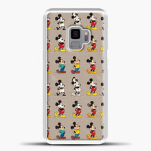 Load image into Gallery viewer, Mickey Mouse Vintage Some Imahe Samsung Galaxy S9 Case, White Plastic Case | casedilegna.com