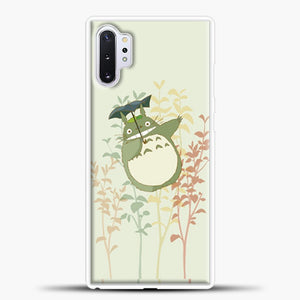 My Neighbour Totoro  Flower Samsung Galaxy Note 10 Plus Case, White Plastic Case | casedilegna.com