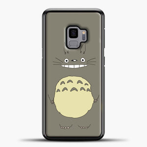 My Neighbour Totoro Brown Samsung Galaxy S9 Case, Black Plastic Case | casedilegna.com