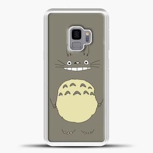 My Neighbour Totoro Brown Samsung Galaxy S9 Case, White Plastic Case | casedilegna.com