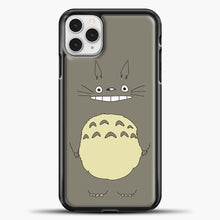 Load image into Gallery viewer, My Neighbour Totoro Brown iPhone 11 Pro Case, Black Plastic Case | casedilegna.com
