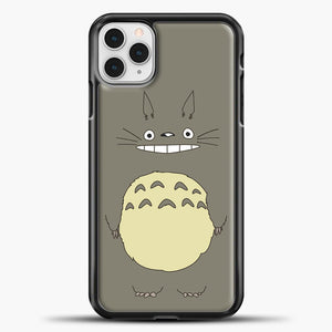 My Neighbour Totoro Brown iPhone 11 Pro Case, Black Plastic Case | casedilegna.com