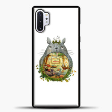 Load image into Gallery viewer, My Neighbour Totoro Cute Totoro Art Samsung Galaxy Note 10 Plus Case, Black Plastic Case | casedilegna.com