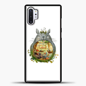 My Neighbour Totoro Cute Totoro Art Samsung Galaxy Note 10 Plus Case, Black Plastic Case | casedilegna.com