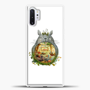 My Neighbour Totoro Cute Totoro Art Samsung Galaxy Note 10 Plus Case, White Plastic Case | casedilegna.com