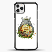 Load image into Gallery viewer, My Neighbour Totoro Cute Totoro Art iPhone 11 Pro Case, Black Plastic Case | casedilegna.com