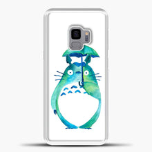 Load image into Gallery viewer, My Neighbour Totoro In The Rain Art Print Samsung Galaxy S9 Case, White Plastic Case | casedilegna.com