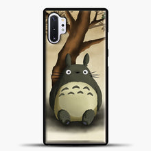 Load image into Gallery viewer, My Neighbour Totoro Relax Samsung Galaxy Note 10 Plus Case, Black Plastic Case | casedilegna.com
