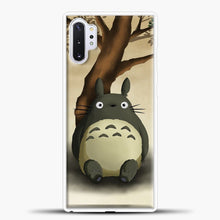 Load image into Gallery viewer, My Neighbour Totoro Relax Samsung Galaxy Note 10 Plus Case, White Plastic Case | casedilegna.com