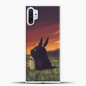 My Neighbour Totoro Sunset Samsung Galaxy Note 10 Plus Case, White Plastic Case | casedilegna.com