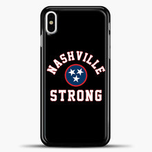 Load image into Gallery viewer, Nashville Strong Baseball Case iPhone X Case, Plastic Case