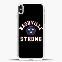 Load image into Gallery viewer, Nashville Strong Baseball Case iPhone X Case, Rubber Case