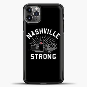 Nashville Strong I Believe In Tennessee Case iPhone 11 Pro Max Case, Plastic Case