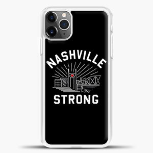 Nashville Strong I Believe In Tennessee Case iPhone 11 Pro Max Case, Rubber Case