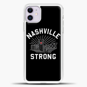 Nashville Strong I Believe In Tennessee Case iPhone 11 Case, Rubber Case