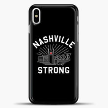 Load image into Gallery viewer, Nashville Strong I Believe In Tennessee Case iPhone X Case, Plastic Case