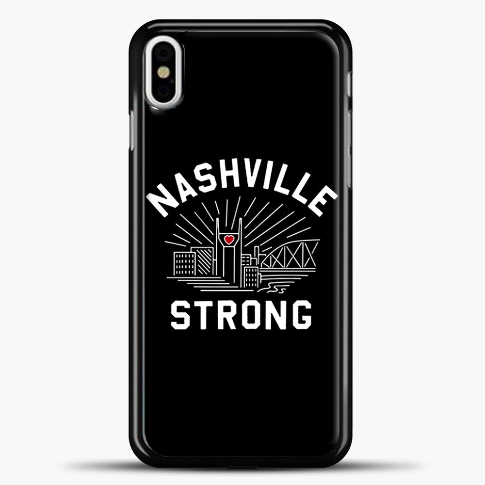 Nashville Strong I Believe In Tennessee Case iPhone X Case, Plastic Case