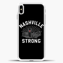 Load image into Gallery viewer, Nashville Strong I Believe In Tennessee Case iPhone X Case, Rubber Case
