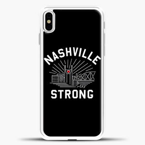 Nashville Strong I Believe In Tennessee Case iPhone X Case, Rubber Case