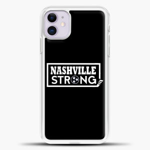 Nashville Strong Logo Case iPhone 11 Case, Rubber Case