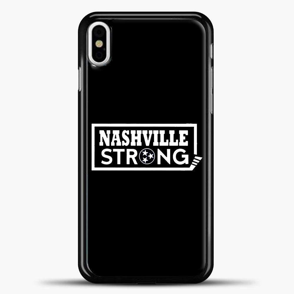 Nashville Strong Logo Case iPhone X Case, Plastic Case