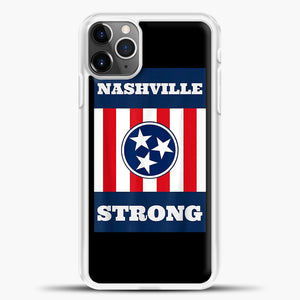 Nashville Strong Case iPhone 11 Pro Max Case, Rubber Case