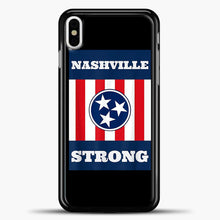 Load image into Gallery viewer, Nashville Strong Case iPhone X Case, Plastic Case