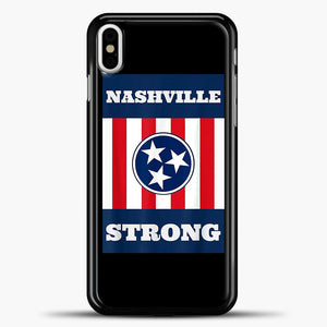 Nashville Strong Case iPhone X Case, Plastic Case