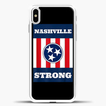 Load image into Gallery viewer, Nashville Strong Case iPhone X Case, Rubber Case