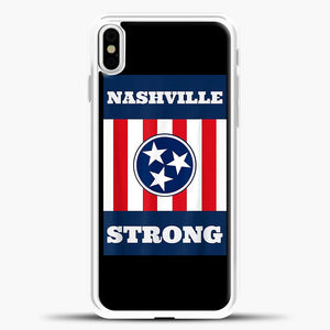 Nashville Strong Case iPhone X Case, Rubber Case
