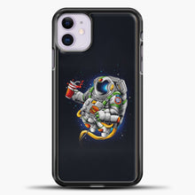 Load image into Gallery viewer, Need More Space iPhone 11 Case, Black Plastic Case | casedilegna.com