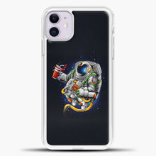 Load image into Gallery viewer, Need More Space iPhone 11 Case, White Plastic Case | casedilegna.com