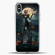 Load image into Gallery viewer, Nightmare Before Christmas Jack Skeleton iPhone XS Case