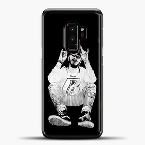 Post Malone Black Wallpaper Samsung Galaxy S9 Case, Black Plastic Case | casedilegna.com