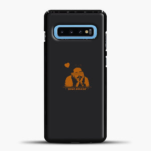 Post Malone Chocolate Image Samsung Galaxy S10 Case, Black Plastic Case | casedilegna.com
