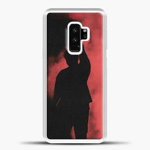 Post Malone Red Smoke Samsung Galaxy S9 Case, White Plastic Case | casedilegna.com