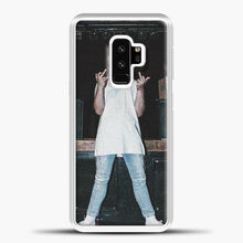 Load image into Gallery viewer, Post Malone Wearing White Clothes Samsung Galaxy S9 Case, White Plastic Case | casedilegna.com