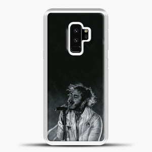 Post Malone White Smoke Samsung Galaxy S9 Case, White Plastic Case | casedilegna.com