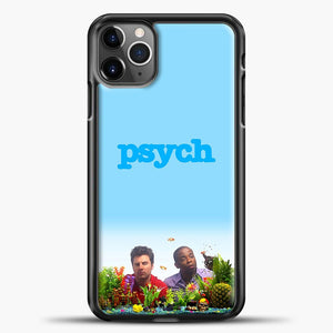 Psych Aquarium Fish iPhone 11 Pro Max Case, Black Plastic Case | casedilegna.com