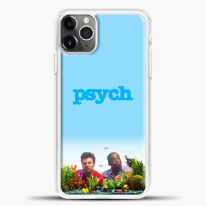 Psych Aquarium Fish iPhone 11 Pro Max Case, White Plastic Case | casedilegna.com