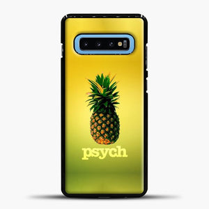 Psych Gradient Background Samsung Galaxy S10 Case, Black Plastic Case | casedilegna.com
