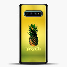 Load image into Gallery viewer, Psych Gradient Background Samsung Galaxy S10e Case, Black Plastic Case | casedilegna.com