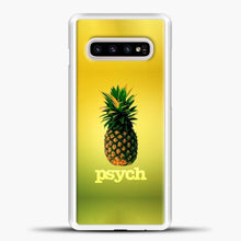 Load image into Gallery viewer, Psych Gradient Background Samsung Galaxy S10e Case, White Plastic Case | casedilegna.com