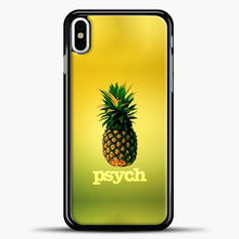 Load image into Gallery viewer, Psych Gradient Background iPhone X Case, Black Plastic Case | casedilegna.com