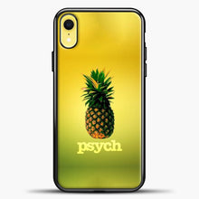 Load image into Gallery viewer, Psych Gradient Background iPhone XR Case, Black Plastic Case | casedilegna.com