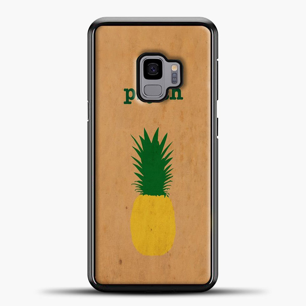 Psych Paper Background Samsung Galaxy S9 Case, Black Plastic Case | casedilegna.com