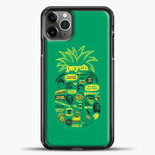 Load image into Gallery viewer, Psych Quotes Shawn iPhone 11 Pro Max Case, Black Plastic Case | casedilegna.com
